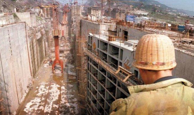 Three Gorges Dam Construction