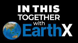 ITT EarthX logo with drop shadow